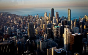 Chicago Skyline- Skydeck Willis Tower