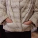 Vintage Fur Coat. Model - Katie Ryan. Photo by Kate Frankenberg.