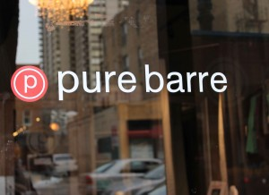 Pure Barre Old Town Sign Outside lowres. Photo by Kate Frankenberg.