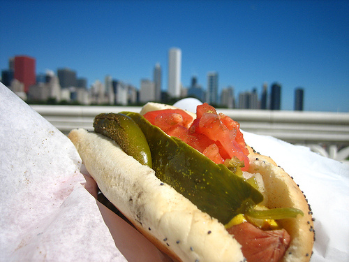 National Hot Dog Month: The Chicago Hot Dog Style (Hold The Ketchup)