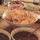 Delicious Mexican Fiesta Spread by Burrito Beach | Photo by Kate Frankenberg | OFF the grid