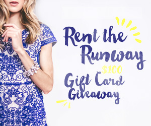$100 Rent The Runway Gift Card Giveaway