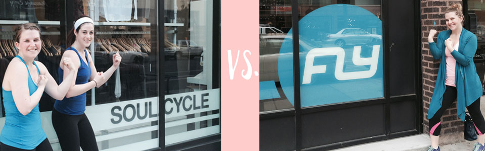 SoulCycle Vs Flywheel - see this  bloggers take on the luxe spin studio!  long