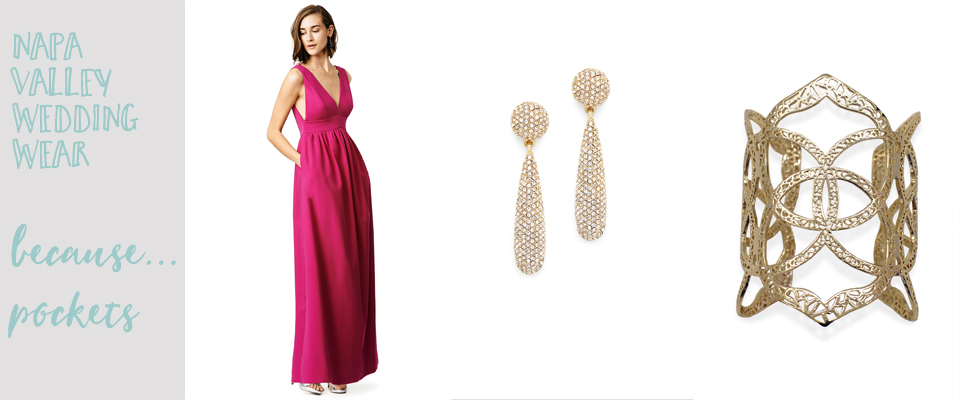 What to wear to a wedding in napa or northern California, long flowy dress