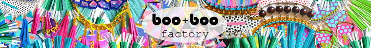 Etsy Store Boo Boo Factory - hand cut bold leather earrings, geometric necklaces, leather tassel jewelry, feather jewelry, colorful bib necklaces, neon statement jewelry, leather bracelets, bright rings, painted wallets and key chains!