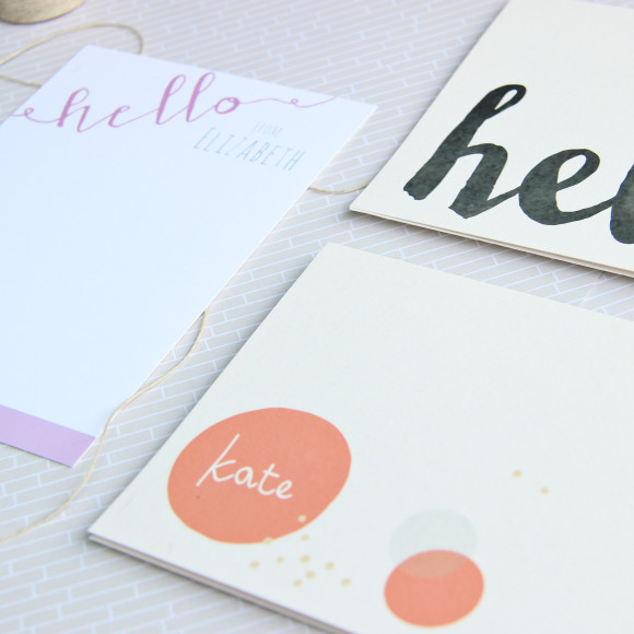 Giveaway: $50 in personalized stationery and invitation printing from Letter loft prints