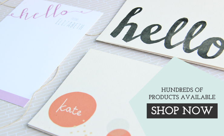 Letter Loft Pints Custom Stationery and Invitation Printing